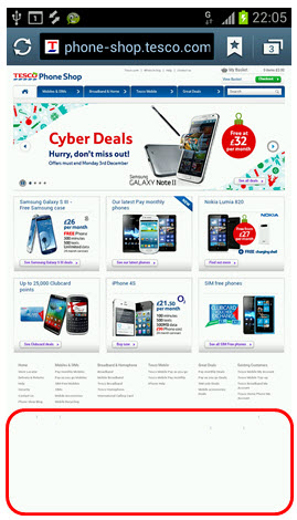 23 - TESCO product page