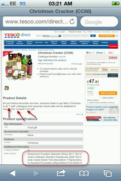 25 - TESCO basket