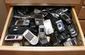 phone drawer
